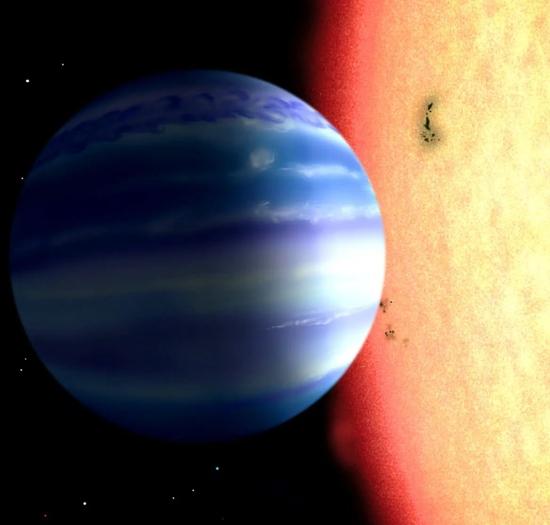 人类首次在系外行星大气中发现羟基(-OH)