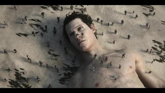 如果海滩出现搁浅的巨人他的结局或许并不科幻